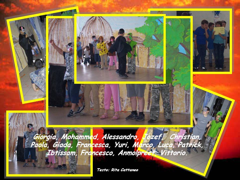 Giorgia, Mohammed, Alessandro, Jozef, Christian, Paola, Giada, Francesca, Yuri, Marco, Luca, Patrick, Ibtissam, Francesco, Anmolpreet, Vittorio.