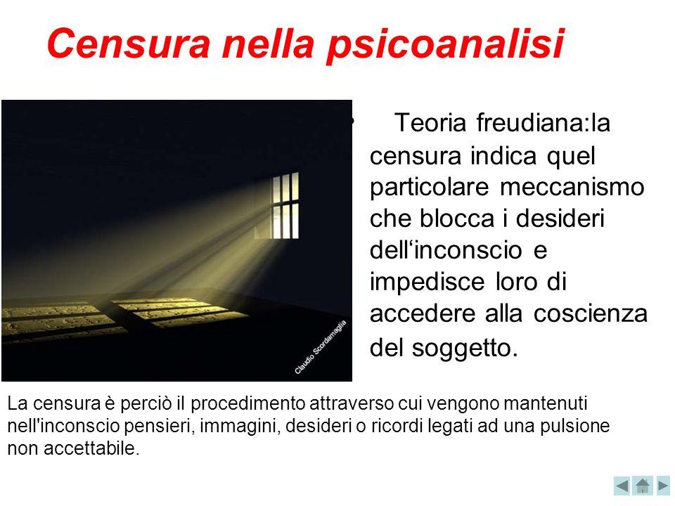 Censura nella psicoanalisi