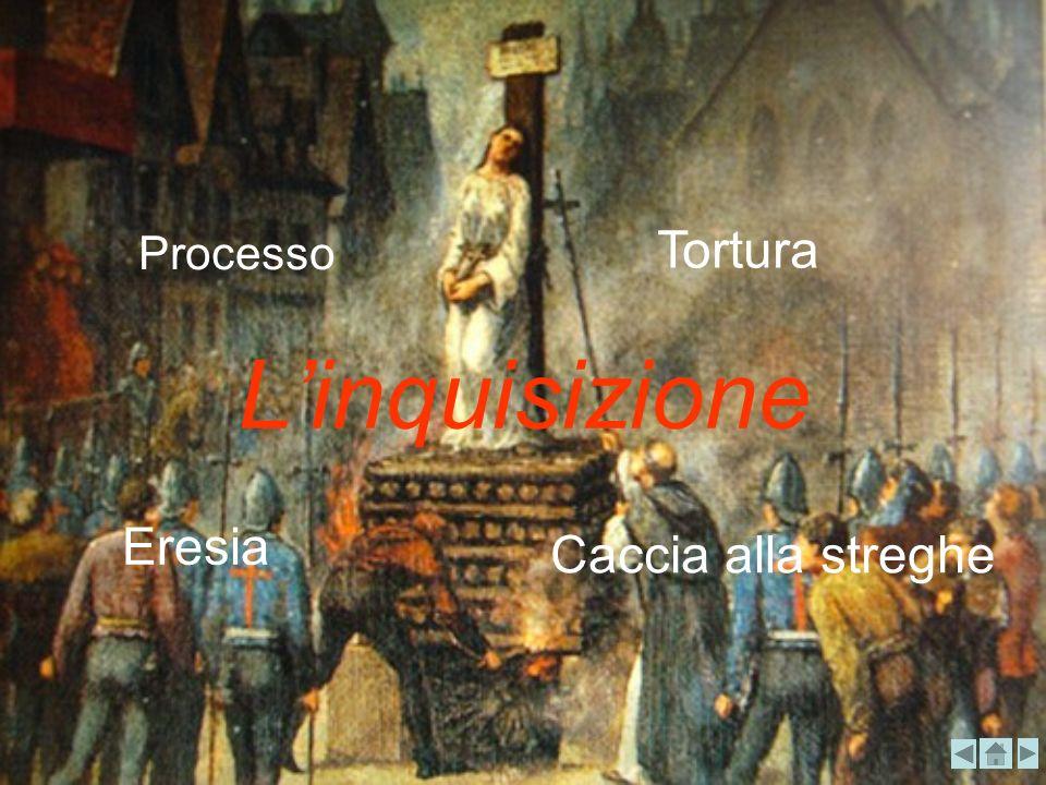 Tortura Processo L'inquisizione Eresia Caccia alla streghe