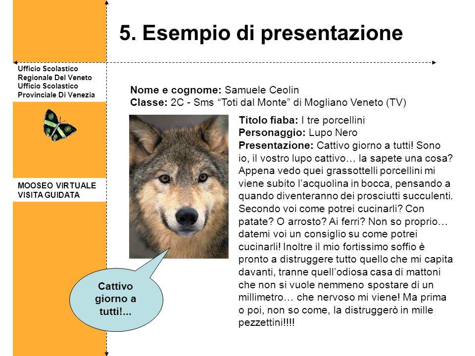 5. Esempio di presentazione