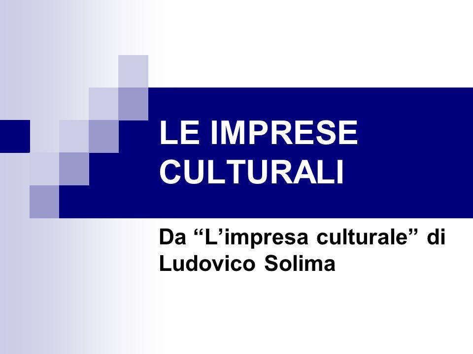Da L'impresa culturale di Ludovico Solima