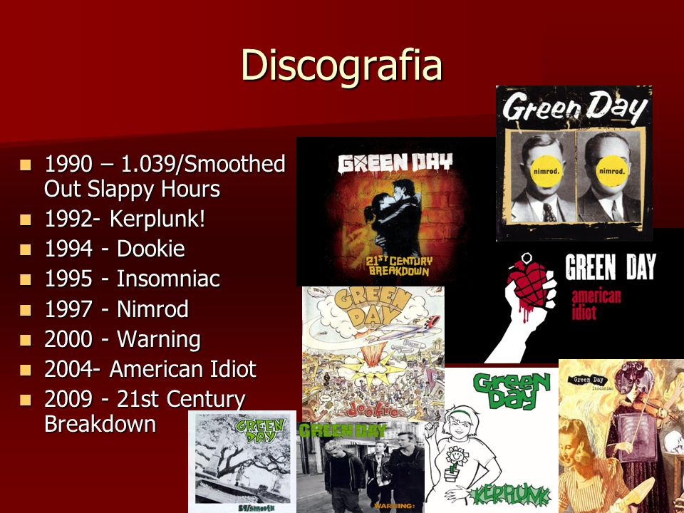 Discografia 1990 – 1.039/Smoothed Out Slappy Hours 1992- Kerplunk!