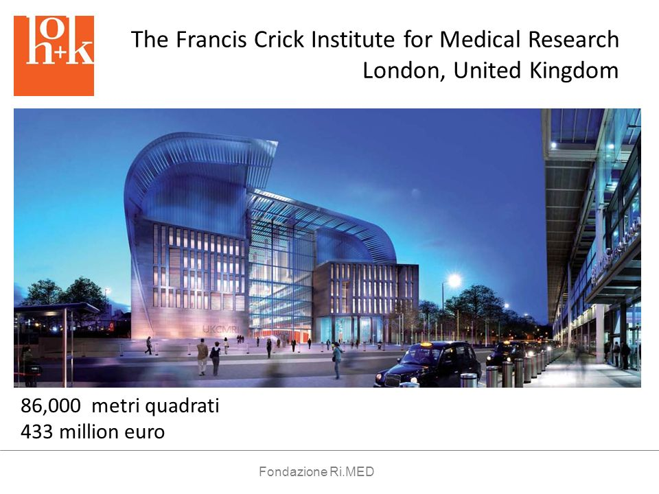 The Francis Crick Institute for Medical Research London, United Kingdom