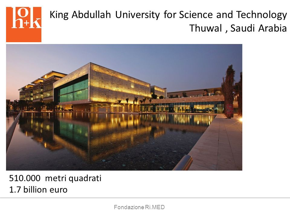 King Abdullah University for Science and Technology Thuwal , Saudi Arabia