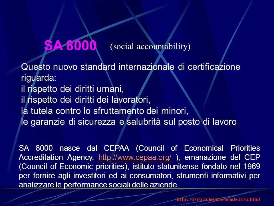 SA 8000 (social accountability)