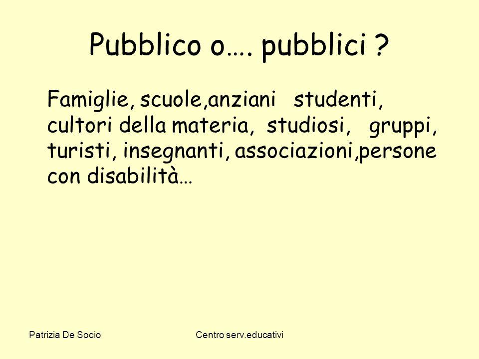 Pubblico o…. pubblici