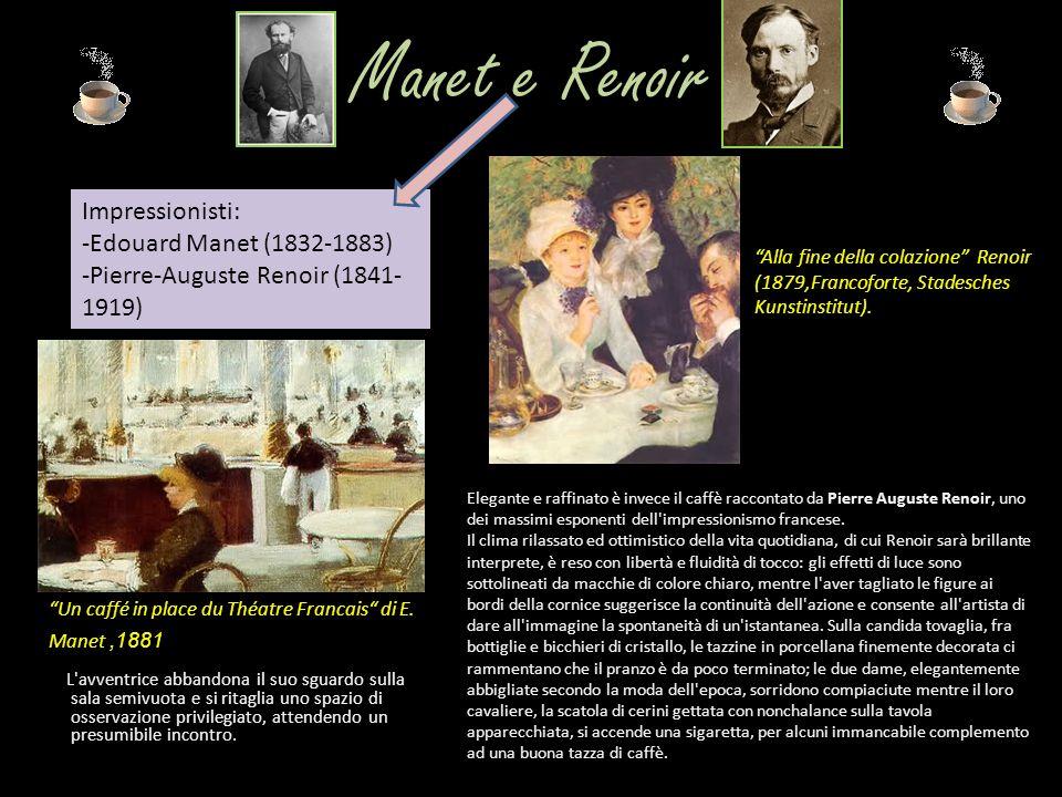 Manet e Renoir Impressionisti: -Edouard Manet (1832-1883)