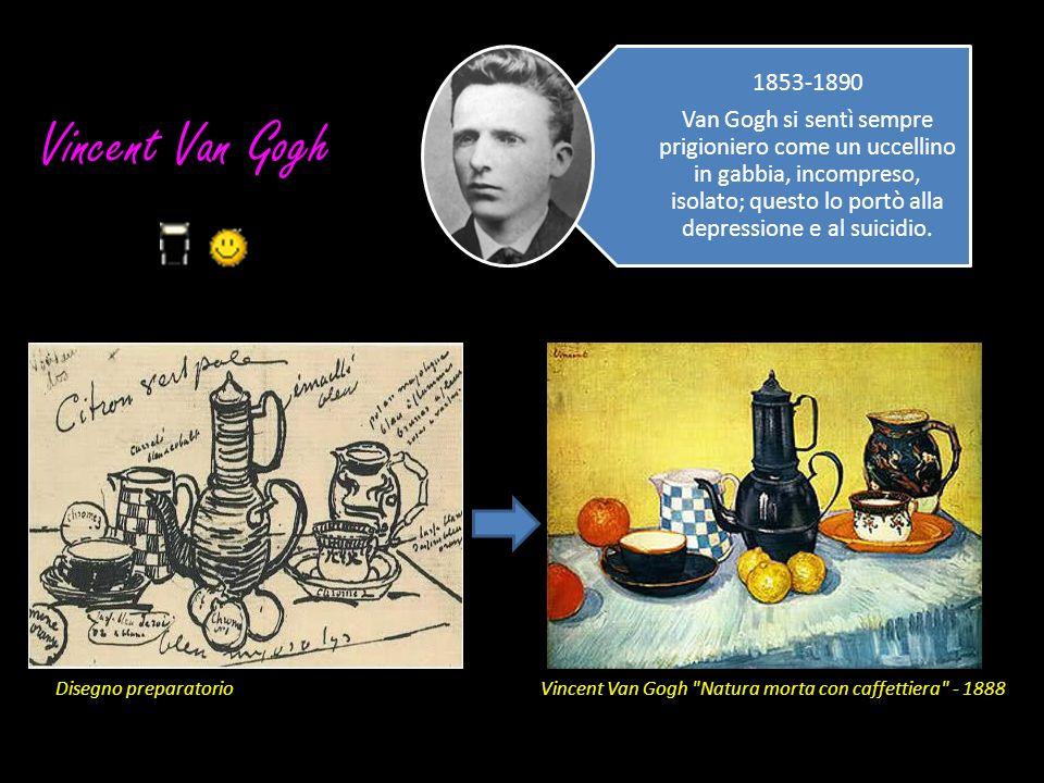 Vincent Van Gogh Disegno preparatorio