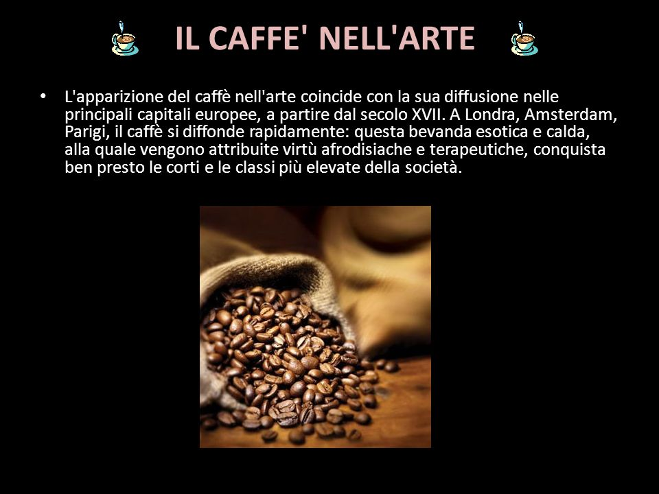 IL CAFFE NELL ARTE