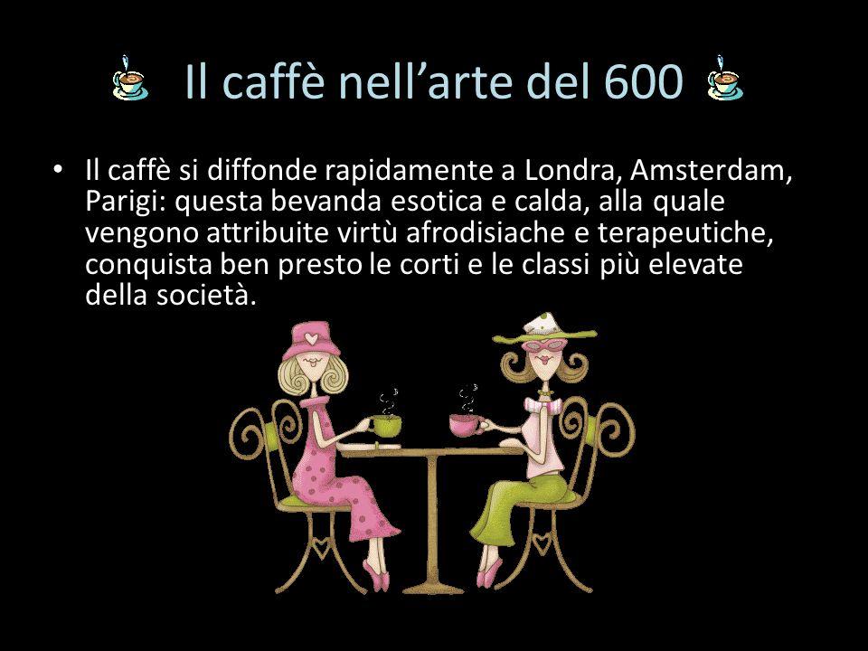 Il caffè nell'arte del 600