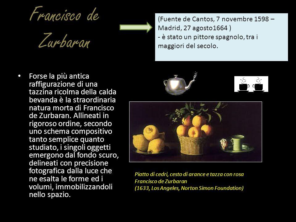 Francisco de Zurbaran (Fuente de Cantos, 7 novembre 1598 – Madrid, 27 agosto1664 ) - è stato un pittore spagnolo, tra i maggiori del secolo.