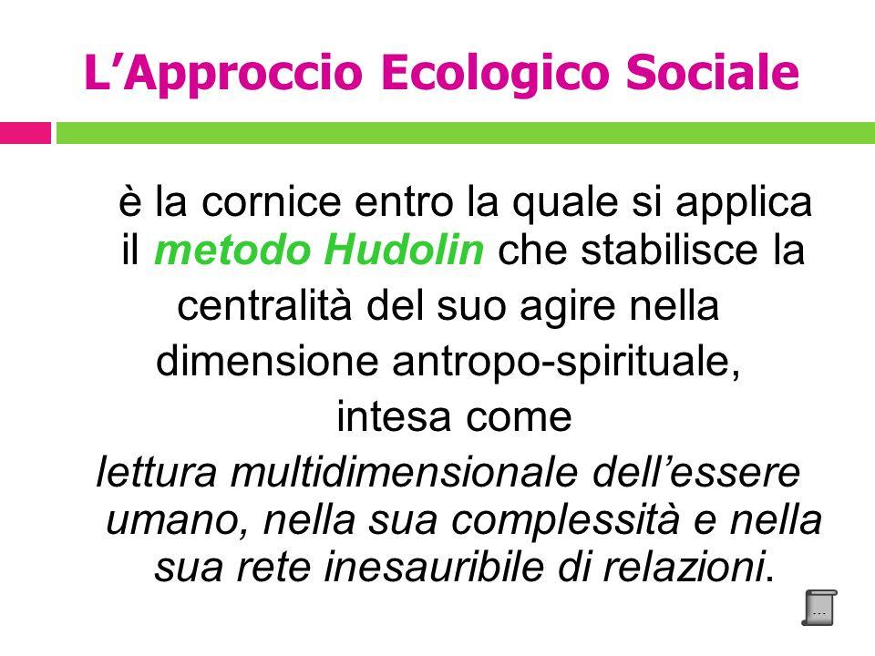 L'Approccio Ecologico Sociale