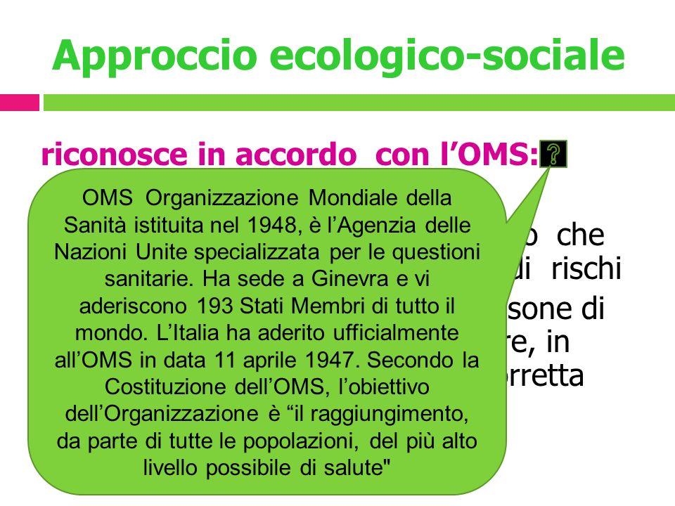 Approccio ecologico-sociale