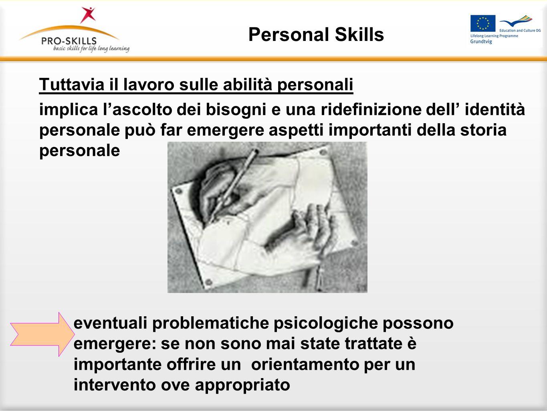 Personal Skills ASPETTI METODOLOGICI
