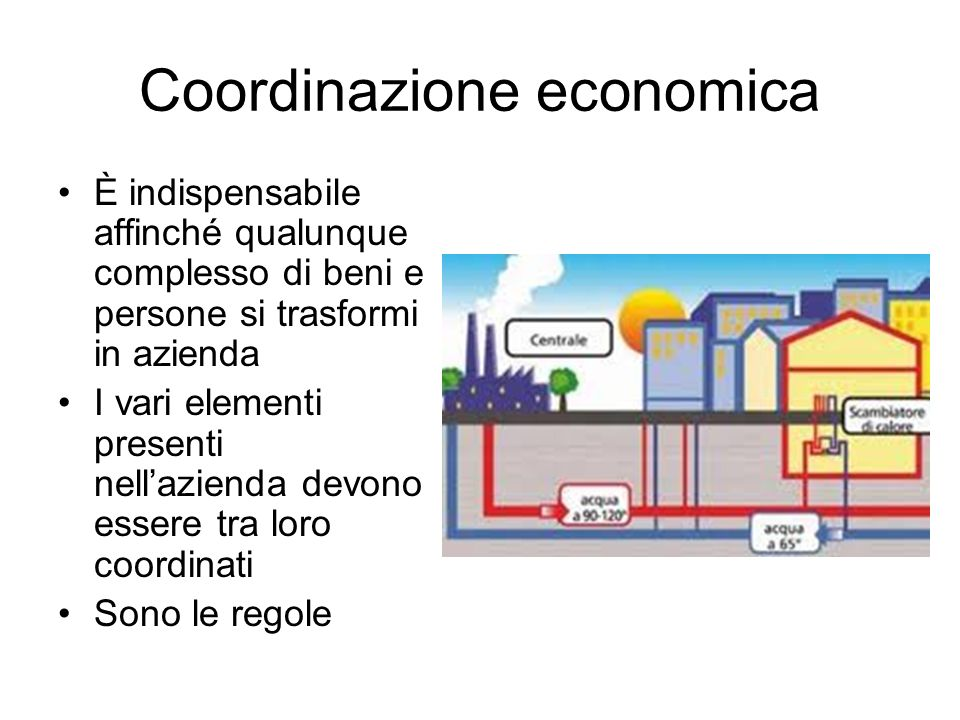 Coordinazione economica