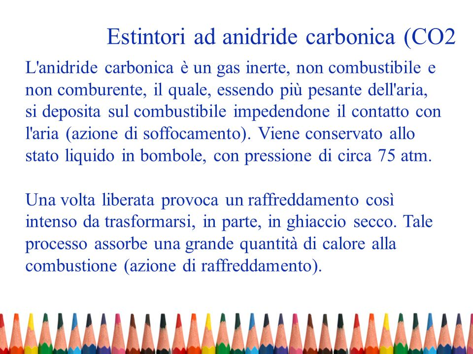 Estintori ad anidride carbonica (CO2