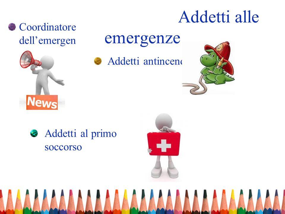 Addetti alle emergenze
