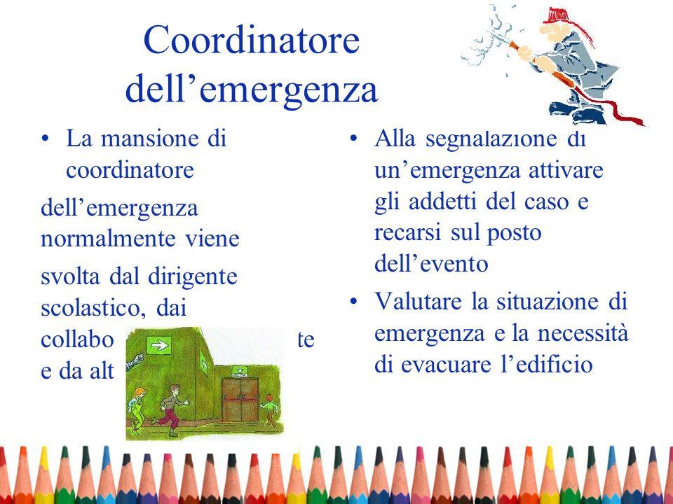 Coordinatore dell'emergenza