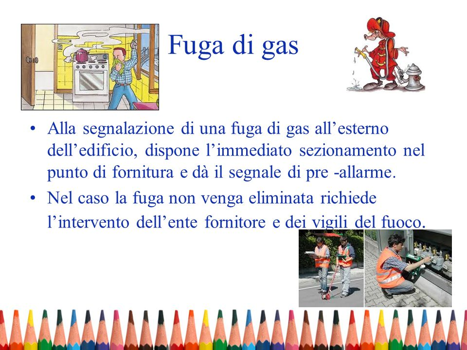 Fuga di gas