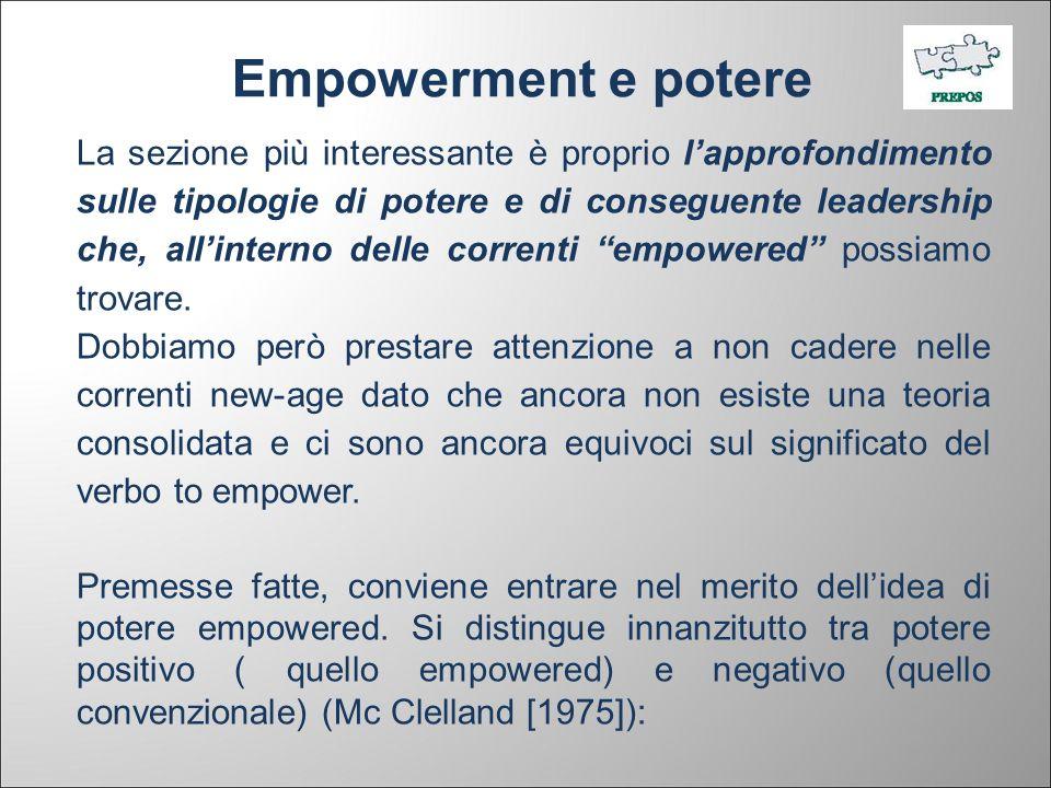 Empowerment e potere