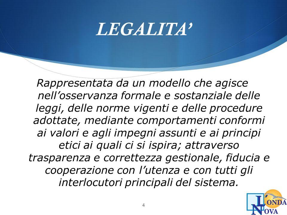 LEGALITA'