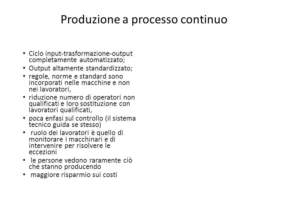 Produzione a processo continuo