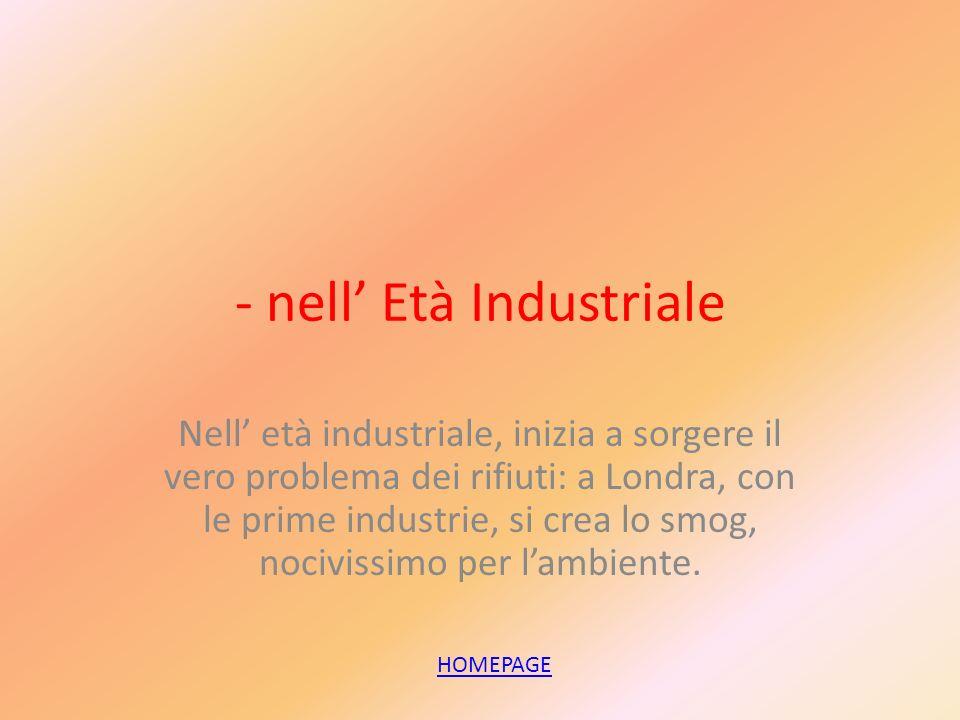 - nell' Età Industriale