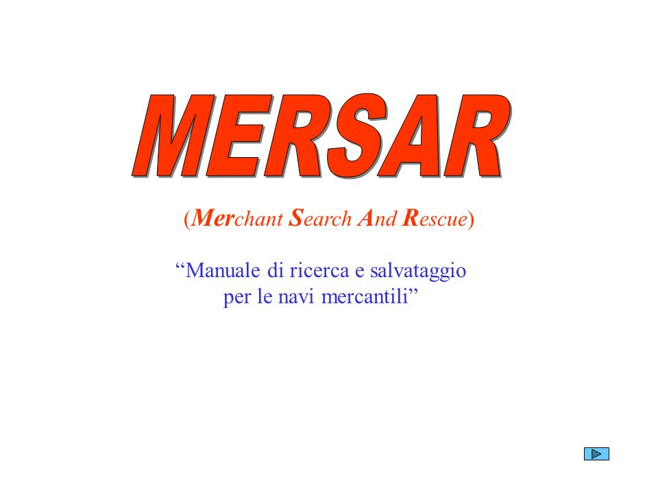 MERSAR (Merchant Search And Rescue)