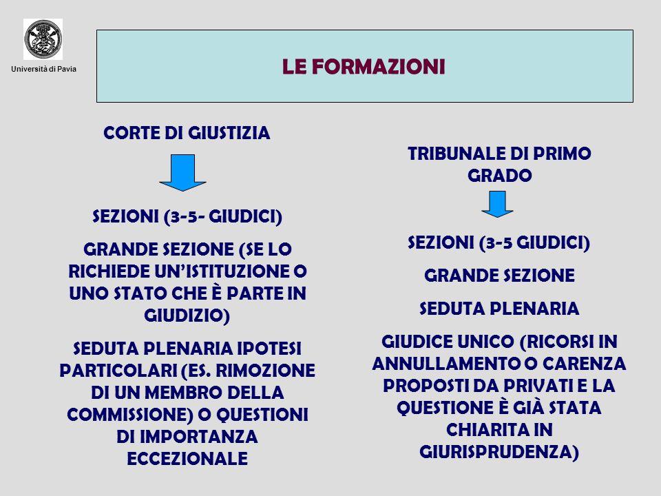 TRIBUNALE DI PRIMO GRADO