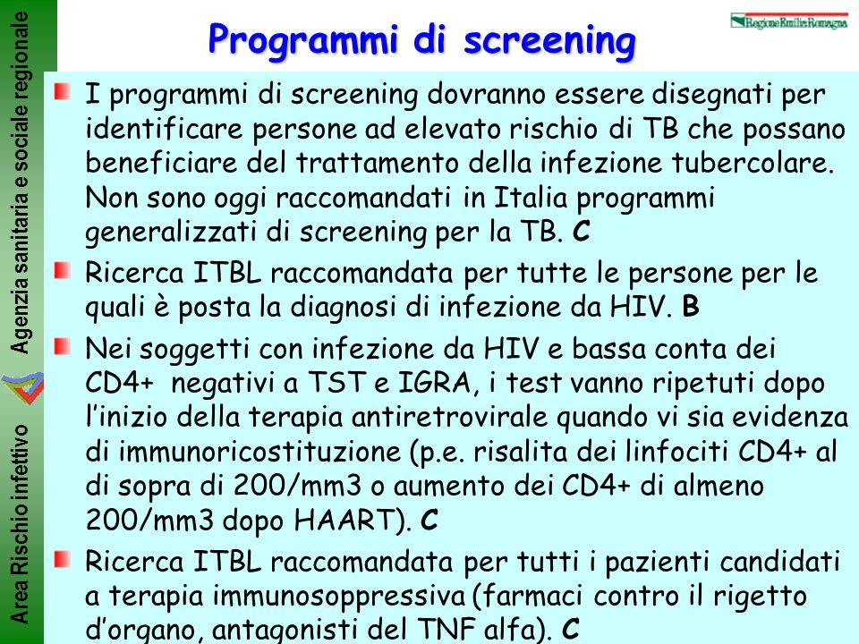 Programmi di screening
