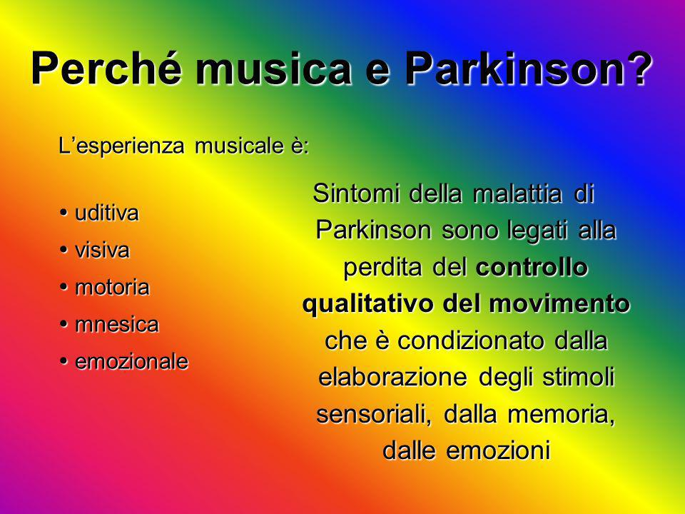 Perché musica e Parkinson