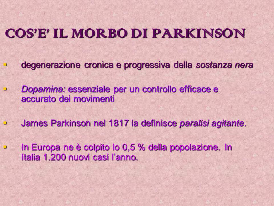 COS'E' IL MORBO DI PARKINSON