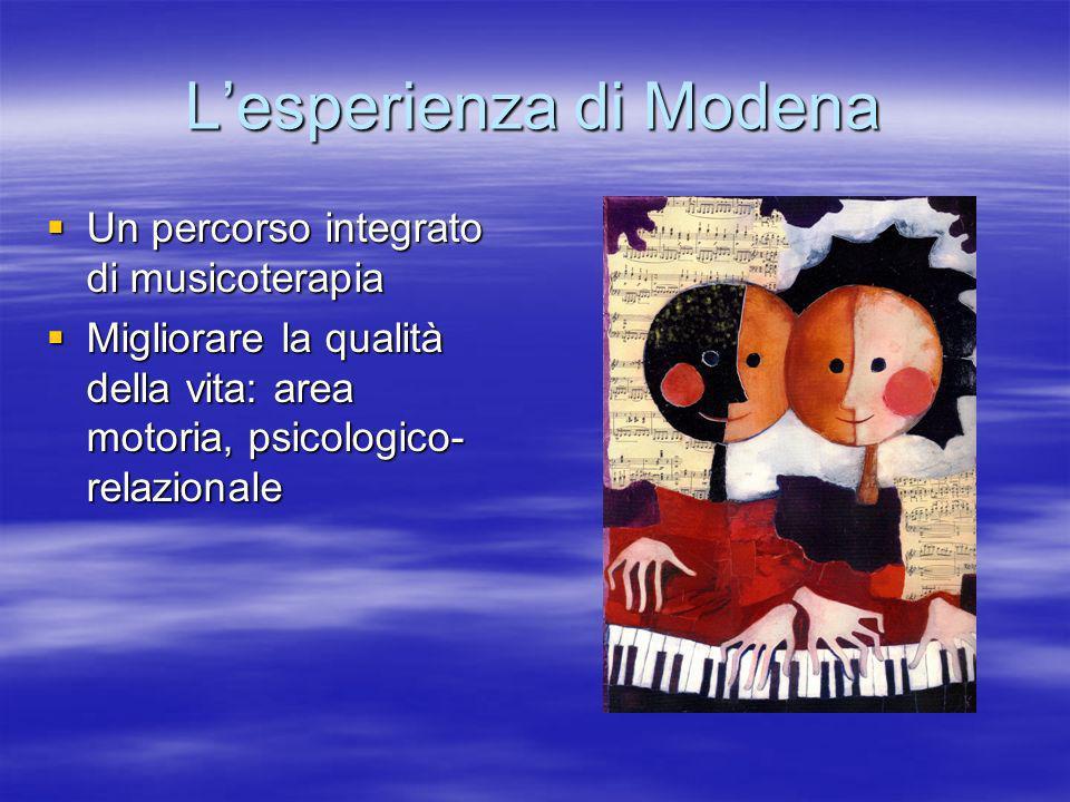 L'esperienza di Modena