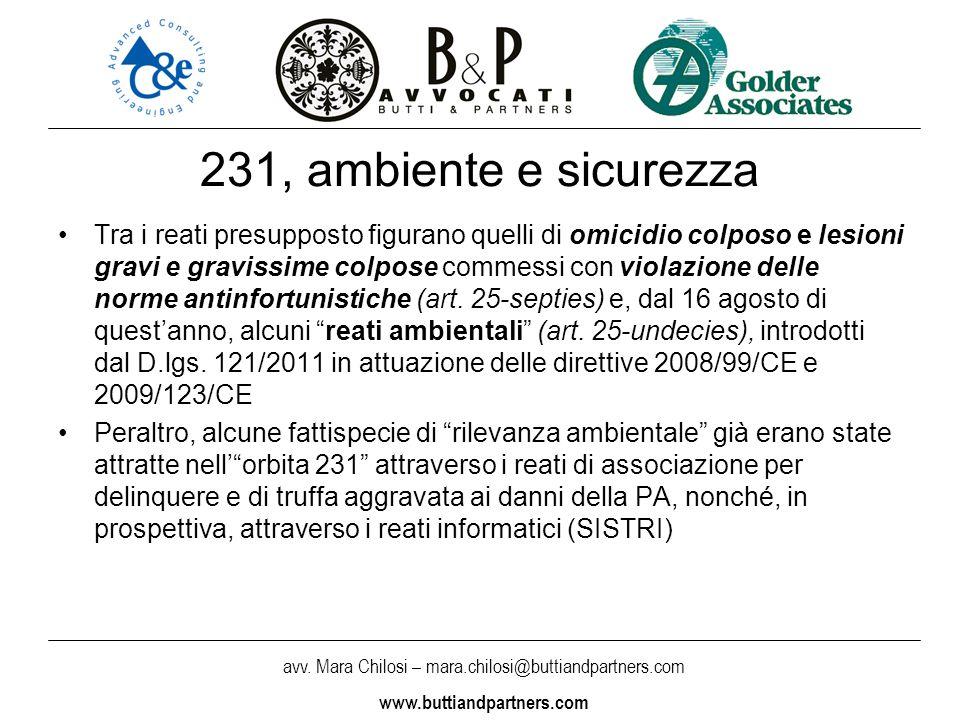 231, ambiente e sicurezza