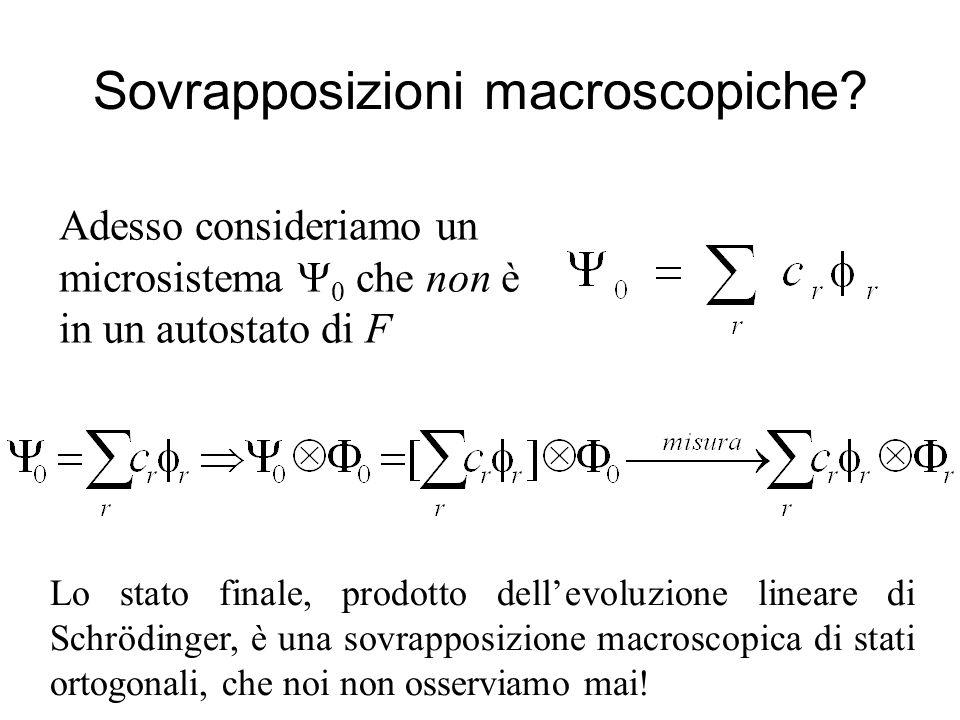 Sovrapposizioni macroscopiche