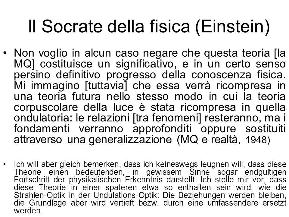 Il Socrate della fisica (Einstein)