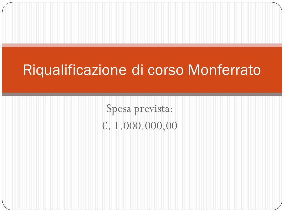 Riqualificazione di corso Monferrato