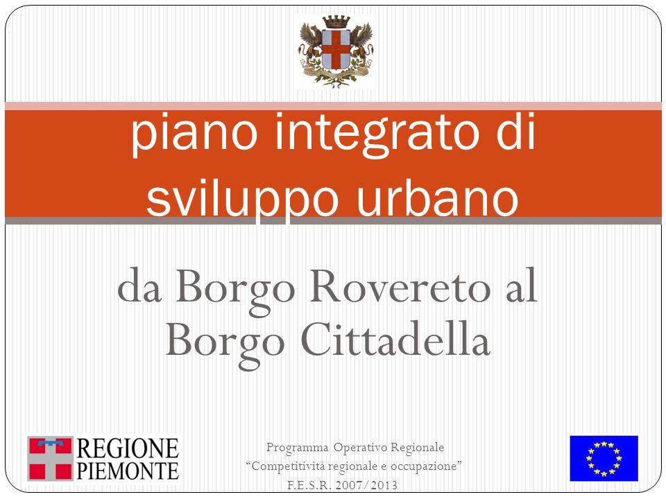 piano integrato di sviluppo urbano