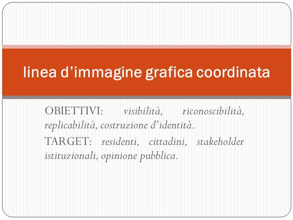 linea d'immagine grafica coordinata
