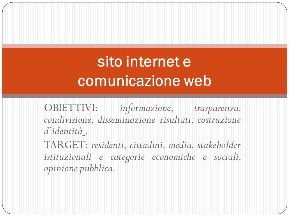 sito internet e comunicazione web