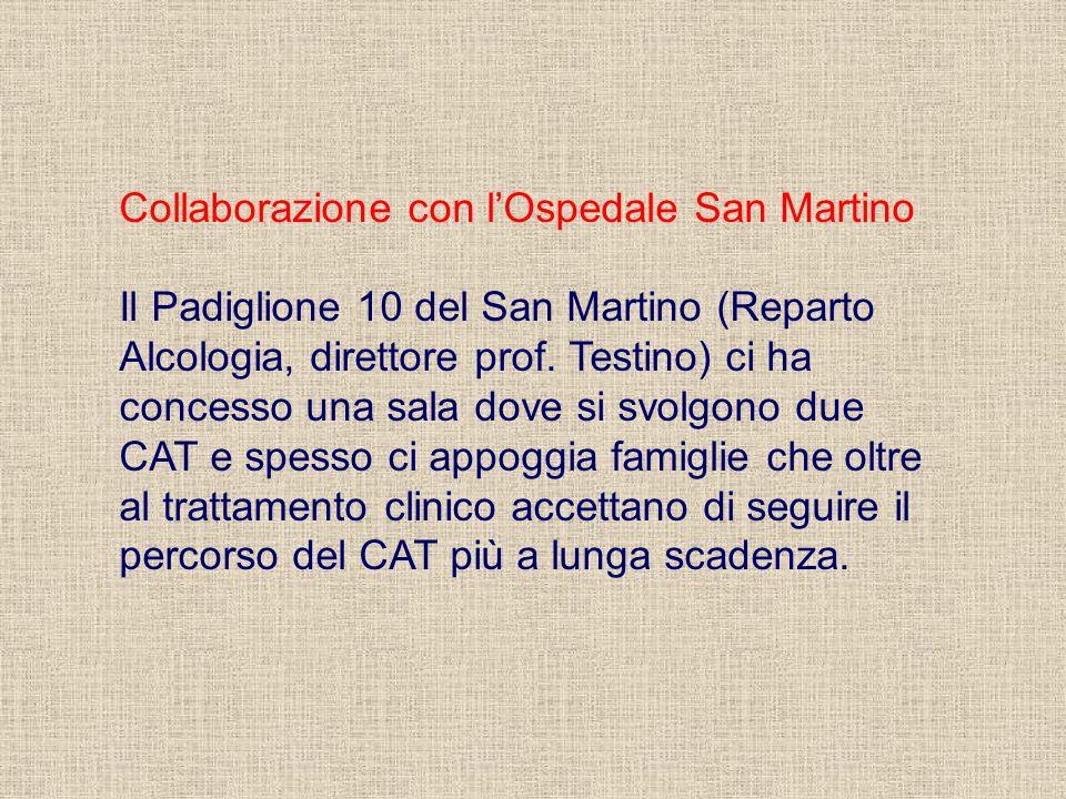 Collaborazione con l'Ospedale San Martino