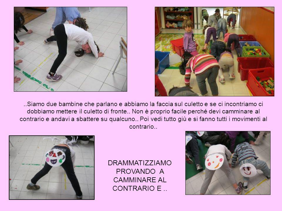 DRAMMATIZZIAMO PROVANDO A CAMMINARE AL CONTRARIO E ..
