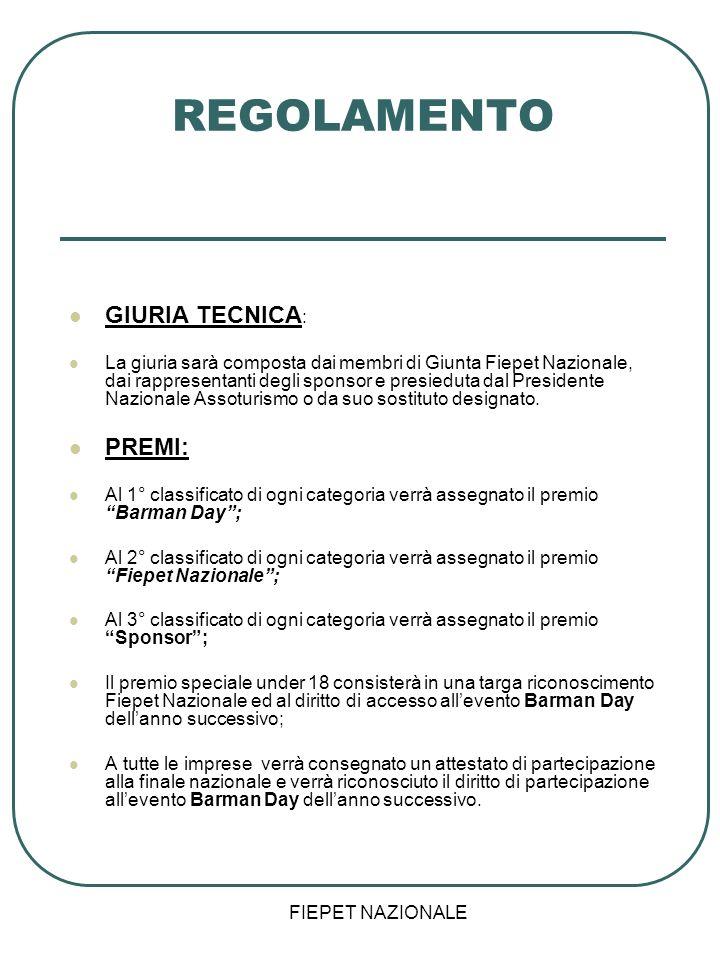 REGOLAMENTO GIURIA TECNICA: PREMI: