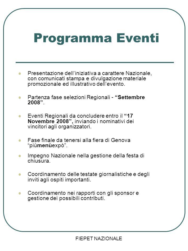 Programma Eventi