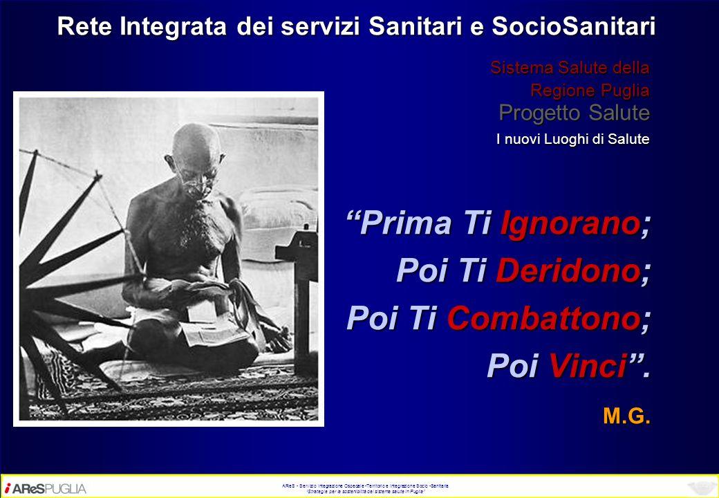 Rete Integrata dei servizi Sanitari e SocioSanitari