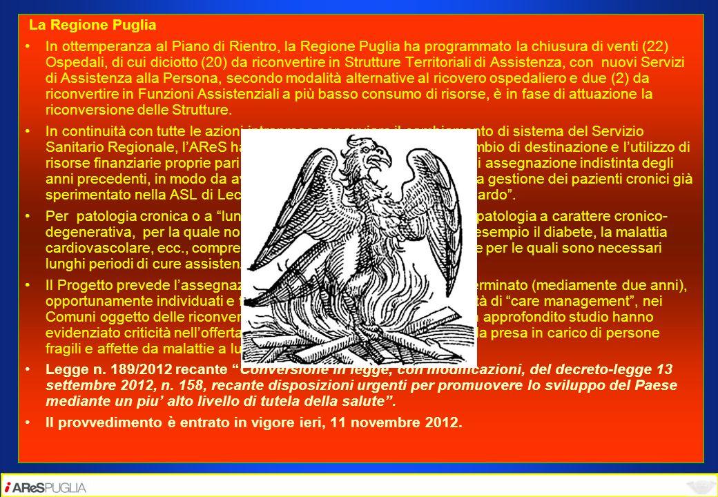 La Regione Puglia