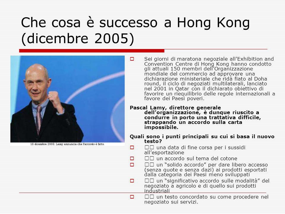 Che cosa è successo a Hong Kong (dicembre 2005)
