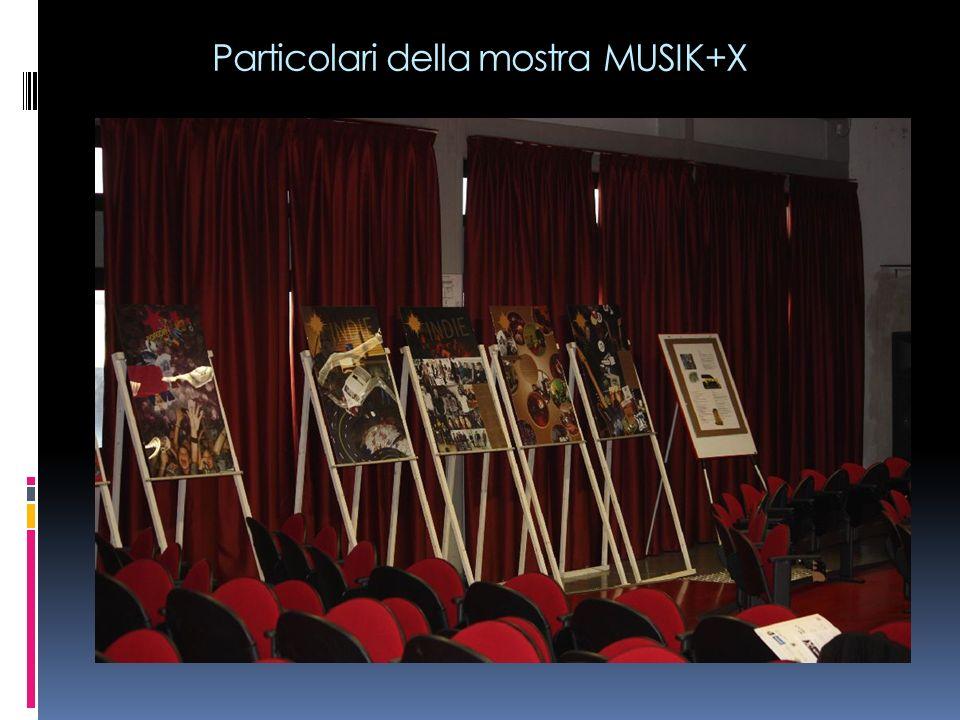 Particolari della mostra MUSIK+X