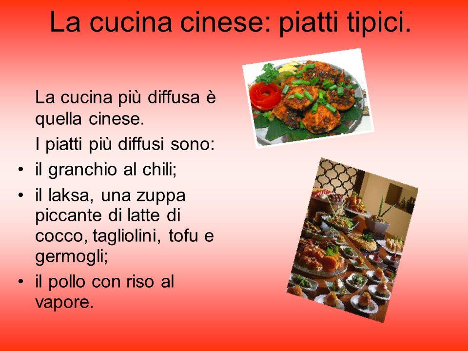 La cucina cinese: piatti tipici.