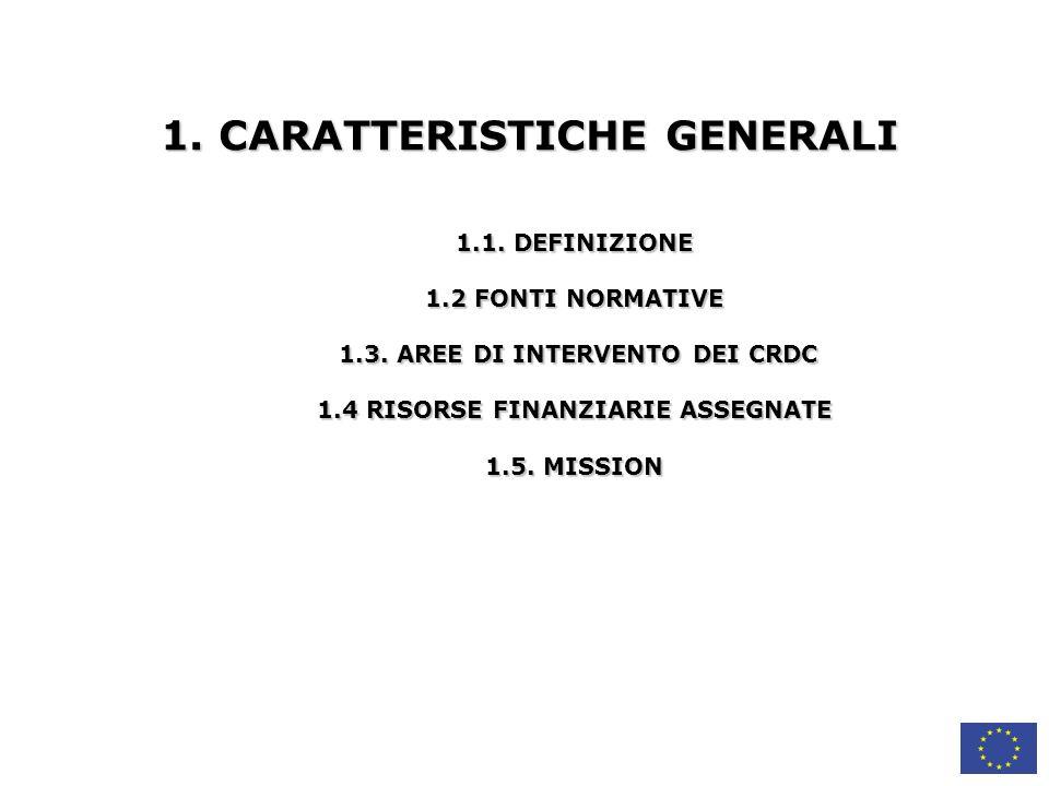 1. CARATTERISTICHE GENERALI
